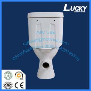 Ceramic 2 Piece Bathroom Toilet for Large Sales Promotion pictures & photos