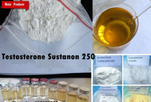 99.9% Raw Powder Top Quality Injectable Steroid Powder Testosterone Sustanon 250 pictures & photos