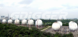 1000m3 Oxygen Spherical Tank Group