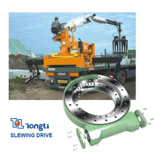 Heavy Machine Closed Type Worm Gear Slewing Drive with SGS pictures & photos
