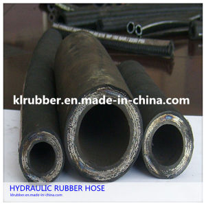 Steel Wire Braided High Pressure Rubber Hydraulic Hose pictures & photos