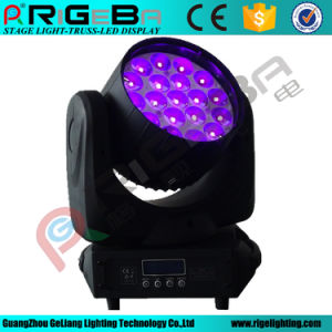 19LEDs*12W LED Zoom Beam Moving Head Stage Light pictures & photos
