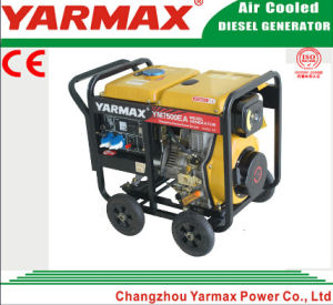 Yarmax Open Frame Single Phase 9kVA 9kw Diesel Genset Electric Generator pictures & photos