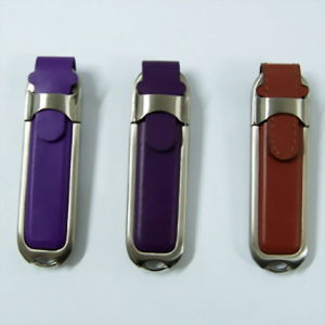 China Full Capacity Leather USB Memory Stick 4GB 8GB 16GB 32GB pictures & photos