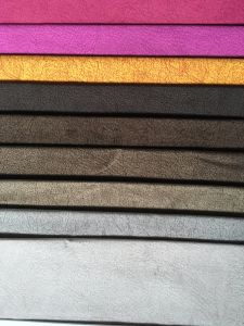 Printed Knitting Velvet with Nice Design for Different Market (PR041) pictures & photos