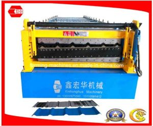 Double Layer Colorband Roof Panel Forming Machine (Yx20-860-1050/Yx12-900-1100) pictures & photos
