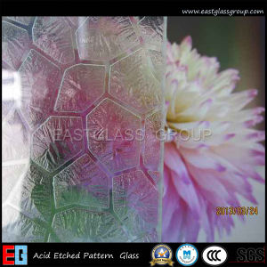 Eg Acid Etched Paint Coated Decorative Art Glass pictures & photos