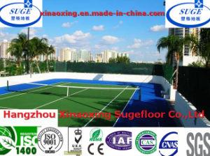 250*250*12.7mm Tennis Court Flooring pictures & photos