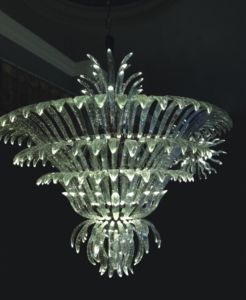 High Quality Transparent Crystal Pendant Lamp for Hotel Project pictures & photos