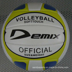 Machine-Sewing PVC Volleyball pictures & photos