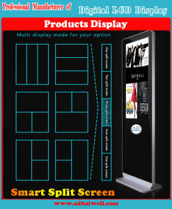 Digital LCD Android Media Displays Kiosks & Monitors Touching Screen pictures & photos