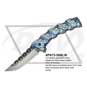"4.8"" Closed Spring Assistant Fantasy Knife with Mirror Blade (4PN75-50MF) pictures & photos"