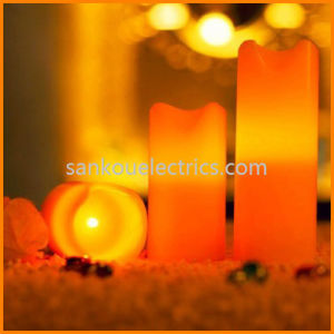 Flameless Candle_LED Flameless Candle Light_LED Candle Wax (LD-6032)