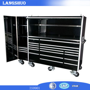 "Us General Tool Box Parts Stainless Steel 72"" Powder Coating Tool Cabinet /Tool Box Trolley Wih Wheels Rolling pictures & photos"