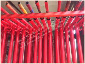 Candy Cane Lock Type Powder Coated Scaffolding Frames pictures & photos