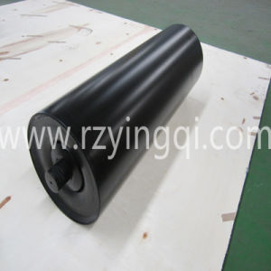 Grain Transportation Conveyor Impact Roller with Moulded Cooked or with Impact Rubber Disc Roller Idler Roll Rubber Rings Weigh Idler Roll Roller