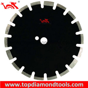 Asphalt & Green Concrete Cutting Diamond Saw Blades with Protective Teeth pictures & photos