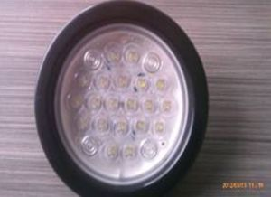 Round LED Stop Tail Turn Lamp pictures & photos