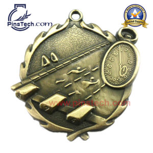 Trophy Medal with 3D Design Golf Finish pictures & photos