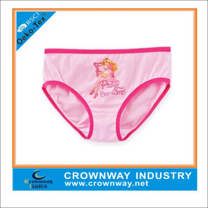 100% Cotton Fashion Printed Lovely Girls Panties / Children Underwears pictures & photos