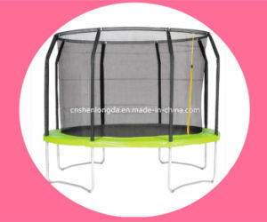 Shenlongda 10FT Customized Trampoline with Intranet, Spring Trampoline for Family pictures & photos