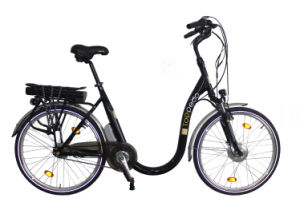 Higher Safety Old Men Riding E Bike with 350W Power Front Motor pictures & photos