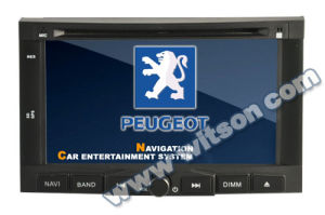 Witson Car DVD Player with GPS for Peugeot 3008/5008 pictures & photos
