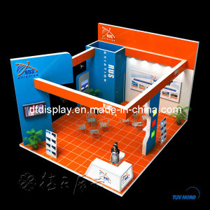 Modular Wood Exhibition Booth 6m*6m (20′x20′)