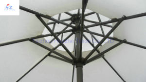 10ft (3m) Double Roof Round Umbrella Crank Umbrella with Tilt Outdoor Parasol Garden Umbrella Patio Umbrella pictures & photos