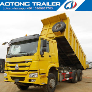 Sinotruk HOWO 6X4 Tipper Dump Truck Tractor for Sale pictures & photos