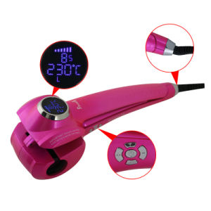LCD Hair Styling Salon Hair Roller Ceramic Hair Curling Tool
