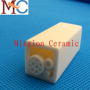 Industrial Ceramic Tubes Manufacturer Al2O3 Alumina Tube pictures & photos