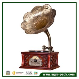 Creative Design Gramophone with Copper Horn pictures & photos