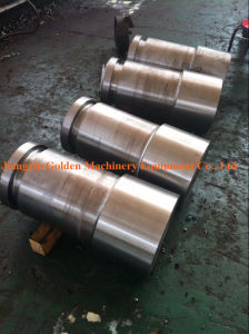 Machined Finish Shaft 1045 Forging Quenching and Tempering pictures & photos