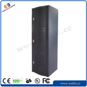 42u Server Rack with Arc Perforated Front Doors for Servers, Data Center Use pictures & photos