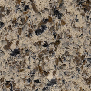 Carrara Color Quartz Stone Countertop for Decoration