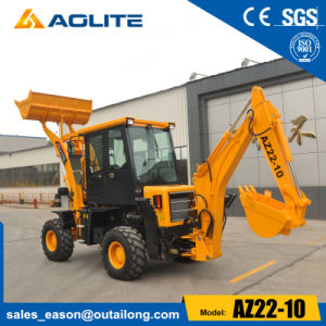Brand Aolite Mini Excavator Backhoe Loader for Sale (AZ22-10) pictures & photos
