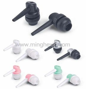 Black Plastic Earphone Shell with SGS ISO