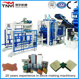 Qt Series Automatic Hydraulic Concrete Hollow Block Making Machine pictures & photos