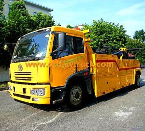 FAW 25 Tons Wrecker Truck pictures & photos