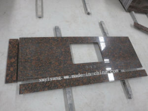 Vanity Top & Kitchen Countertop Eased Baltic Brown Granite pictures & photos