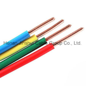 Single Core Copper PVC Electrical Wire and Cable pictures & photos