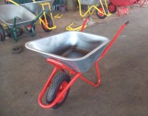 Zic Construction Wheelbarrow Wb6418 with Air Wheel pictures & photos
