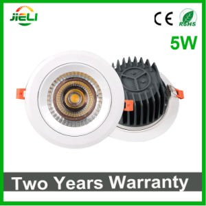 Newest Style COB 5W Recessed LED Downlight pictures & photos