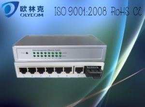 10/100m Web Manageable 1 Fiber + 7 Rj 45 Fiber Switch (TA717WEM-FE/S20)