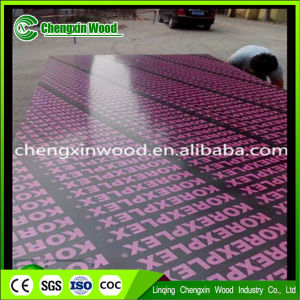 Waterproof Black Film Faced Plywood for Construction From Linqing Chengxin Wood pictures & photos