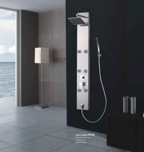 Shower Panel System with 6 Body Jets in Stainless Steel (GKF-3016)