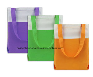 Custom Made Logo Printed Promotional Cotton Canvas Craft Tote Bag pictures & photos