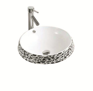 Ceramic Sanitary Ware Art Basin (YZ1308) pictures & photos
