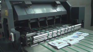 Full Automatic Paper Book Cutting Machine pictures & photos